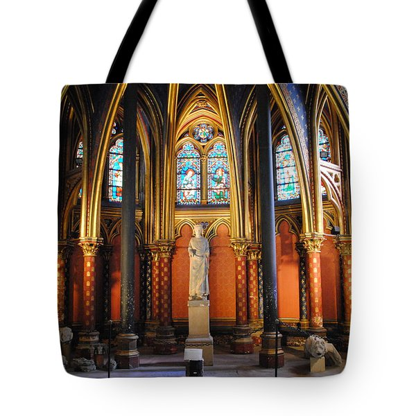 Ste.-chapelle Lower Chapel Tote Bag