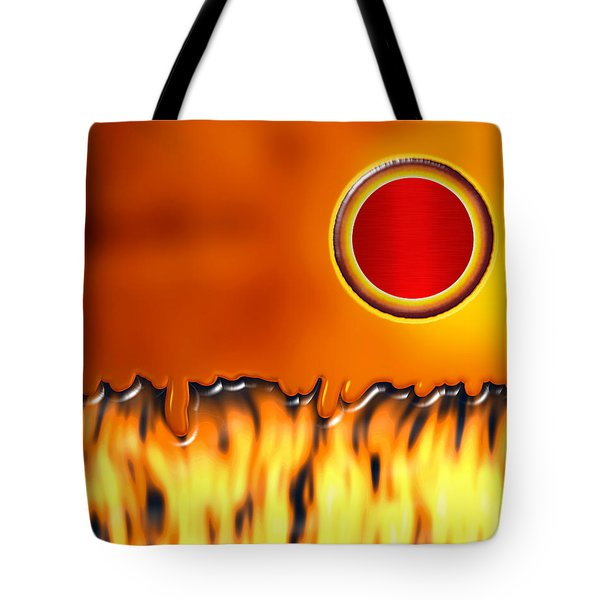 Steady Burn Tote Bag by Wendy J St Christopher