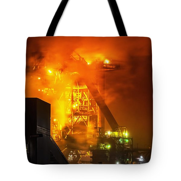Steam And Light Tote Bag