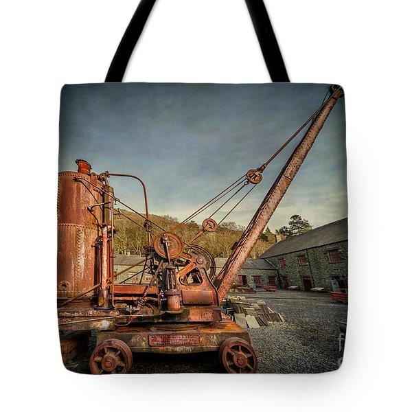 Steam Crane Tote Bag