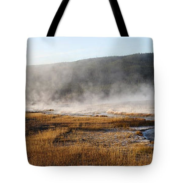 Tote Bag featuring the photograph Steam Creek by David Andersen