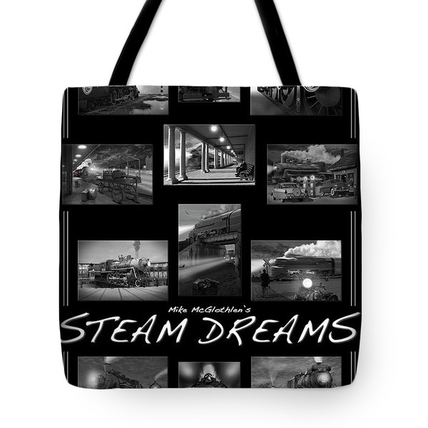 Steam Dreams Tote Bag