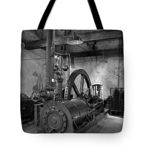Steam Engine At Locke's Distillery Tote Bag
