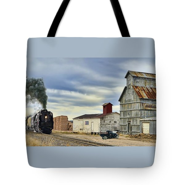 Steam In Castle Rock Tote Bag