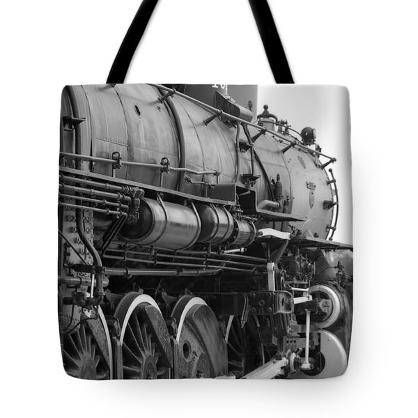 Steam Locomotive 1519 - Bw 02 Tote Bag