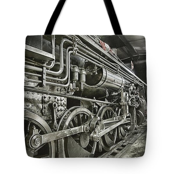 Steam Locomotive 2141 Tote Bag