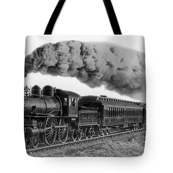 Steam Locomotive No. 999 - C. 1893 Tote Bag