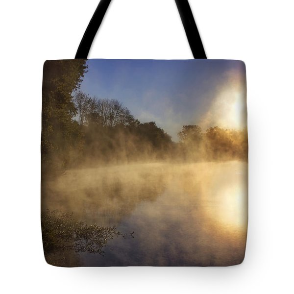 Steam On The Water Tote Bag by Jason Politte