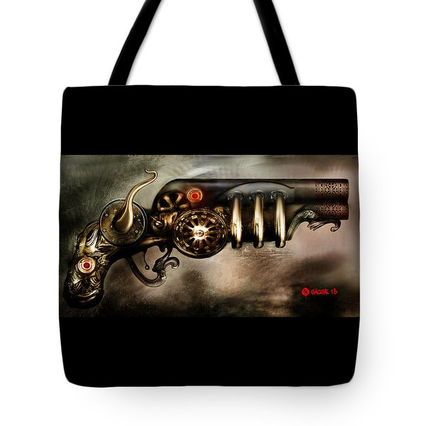 Steam Punk Pistol Mk II Tote Bag