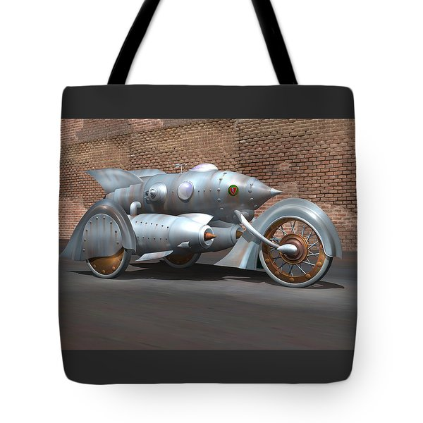 Steam Turbine Cycle Tote Bag by Stuart Swartz