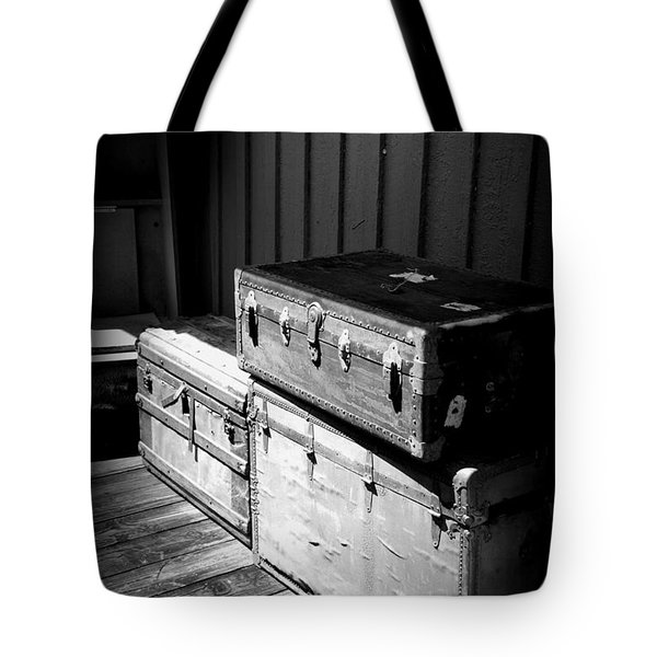 Steamer Trunks Tote Bag