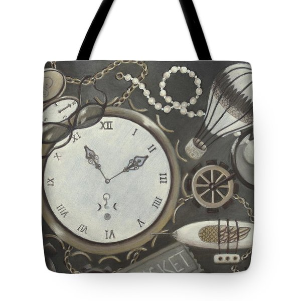 Steampunk Adventure Tote Bag