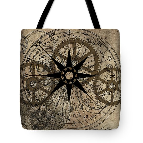 Steampunk Gold Gears II  Tote Bag