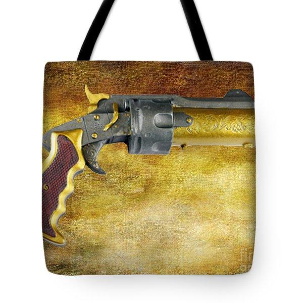 Steampunk - Gun - The Hand Cannon Tote Bag by Paul Ward