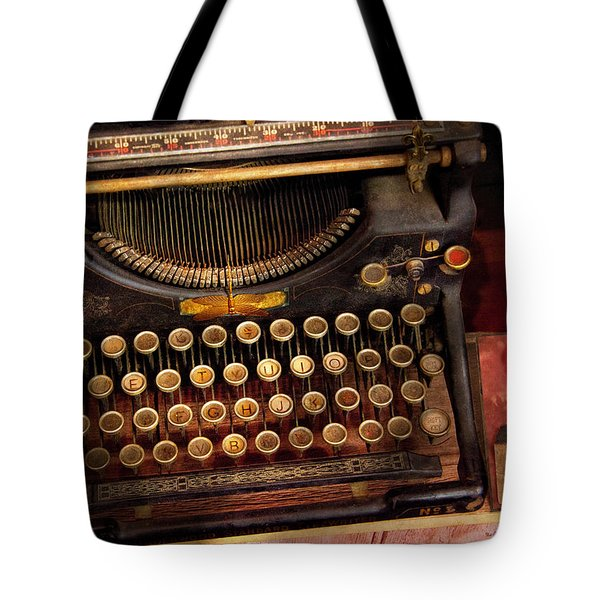 Steampunk - Just An Ordinary Typewriter  Tote Bag
