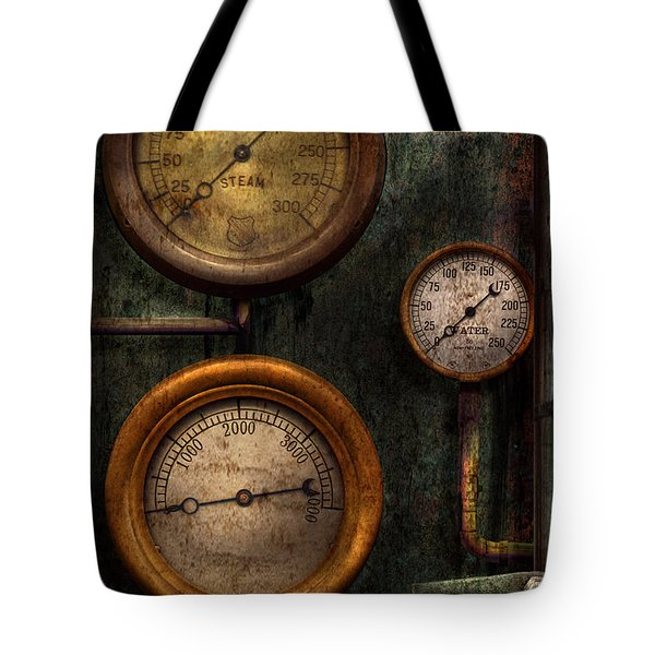 Steampunk - Plumbing - Gauging Success Tote Bag