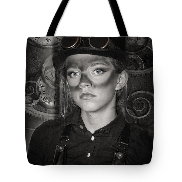 Steampunk Princess Tote Bag