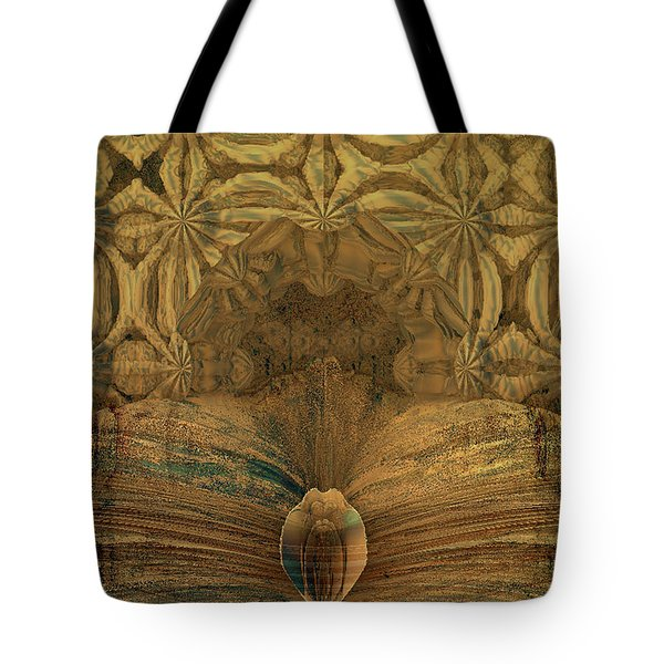 Steampunk Recovered Tote Bag