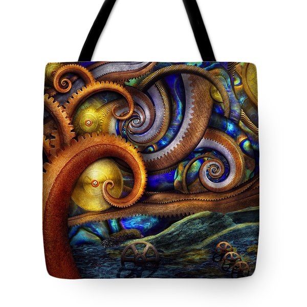 Steampunk - Starry Night Tote Bag