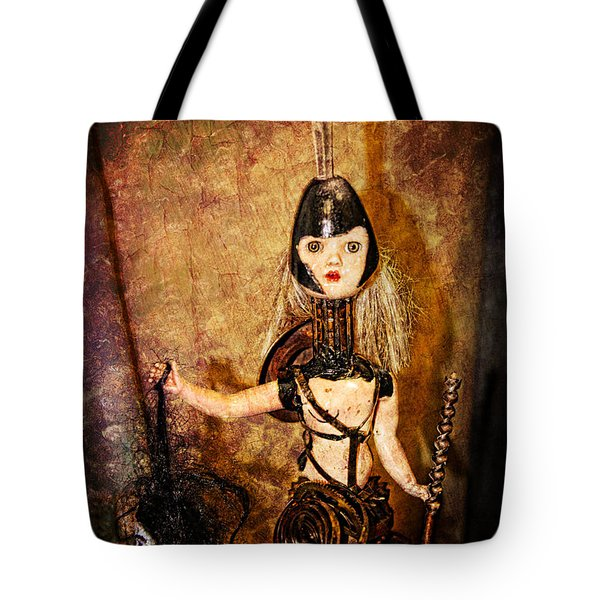 Steampunk - The Headhunter Tote Bag by Paul Ward