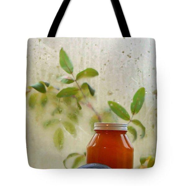 Steamy Window Tote Bag by Pamela Patch