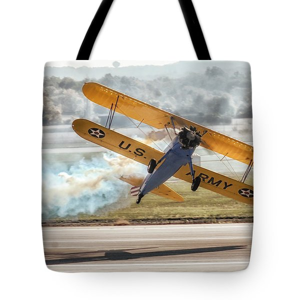 Stearman Model 75 Biplane Tote Bag