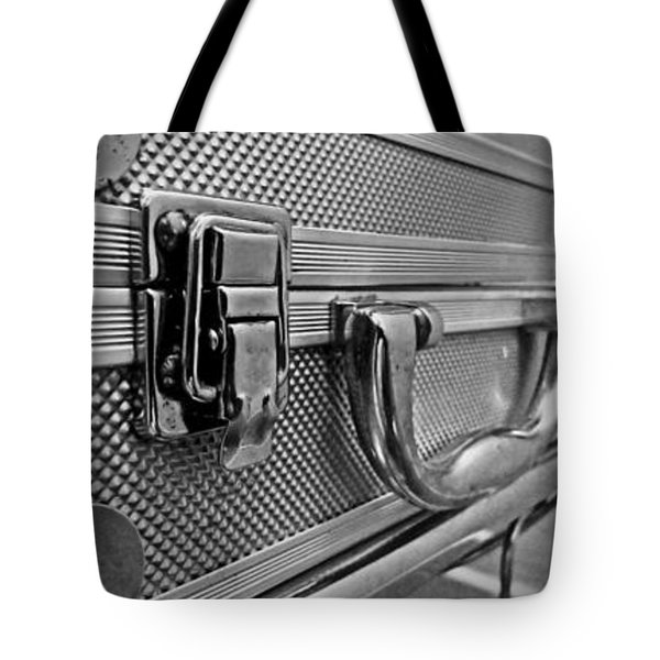 Steel Box - Triptych Tote Bag by James Aiken