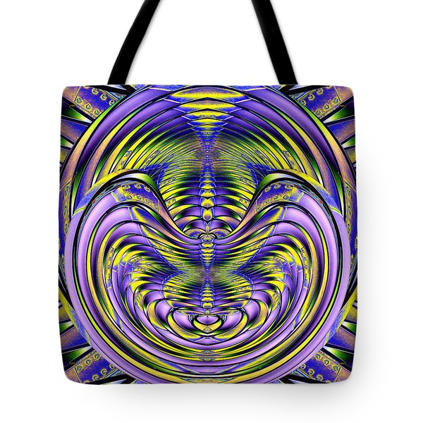 Steel Cheshire Tote Bag by Tim Allen