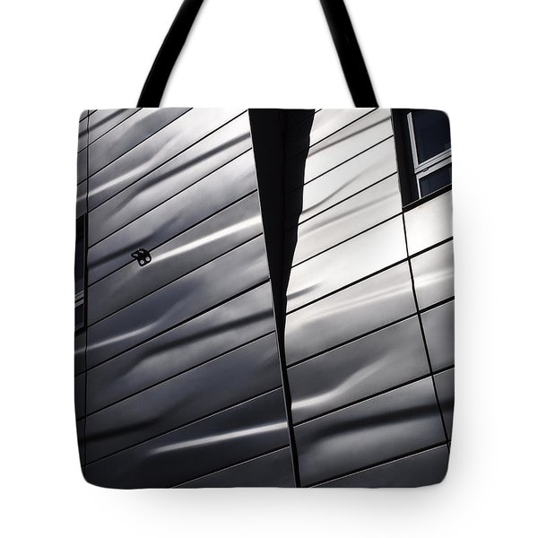 Tote Bag featuring the photograph Steel Currents by Rona Black