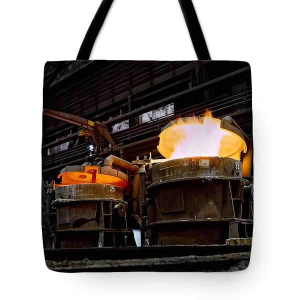 Steel Industry In Smederevo. Serbia Tote Bag