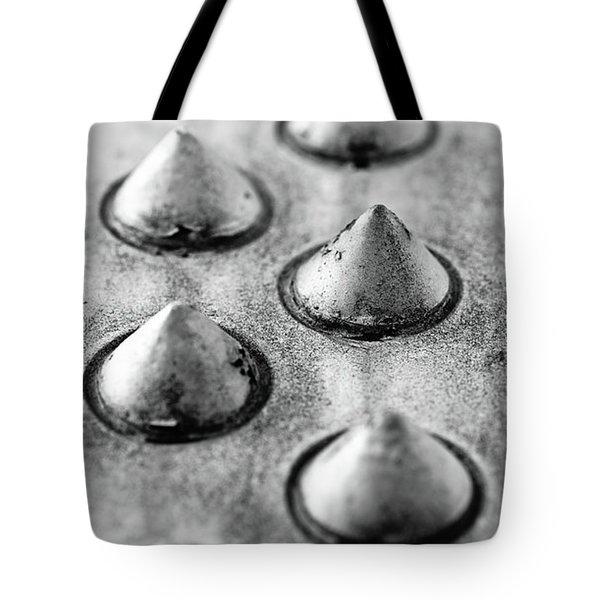 Steel Kisses Tote Bag