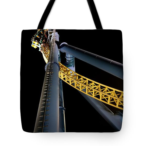 Steel Venom Tote Bag by Jacqueline Athmann
