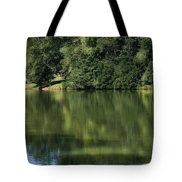 Steele Creek Park Reflections Tote Bag