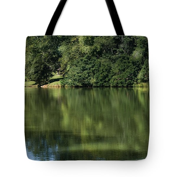 Steele Creek Park Reflections Tote Bag