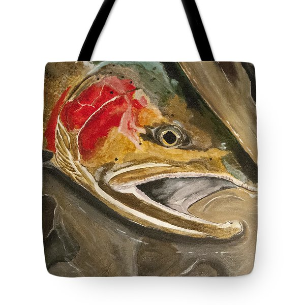 Steelhead Buck Tote Bag