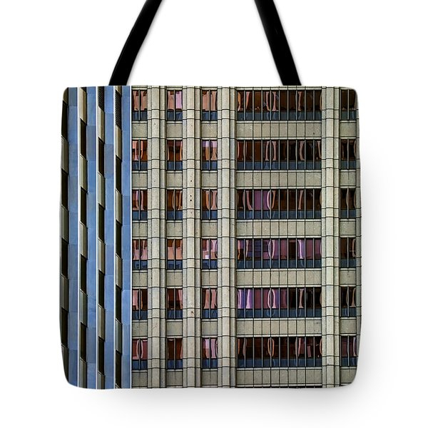 Steelness Of Geometry Tote Bag by Joanna Madloch