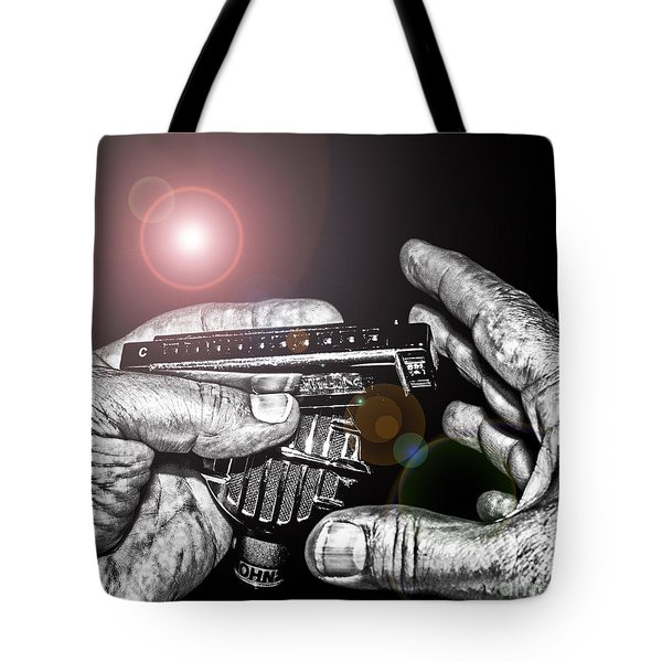 Steelworker's Blues Tote Bag by Robert Frederick