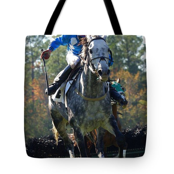 Steeplechase Tote Bag