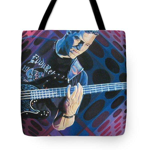 Stefan Lessard Pop-op Series Tote Bag by Joshua Morton