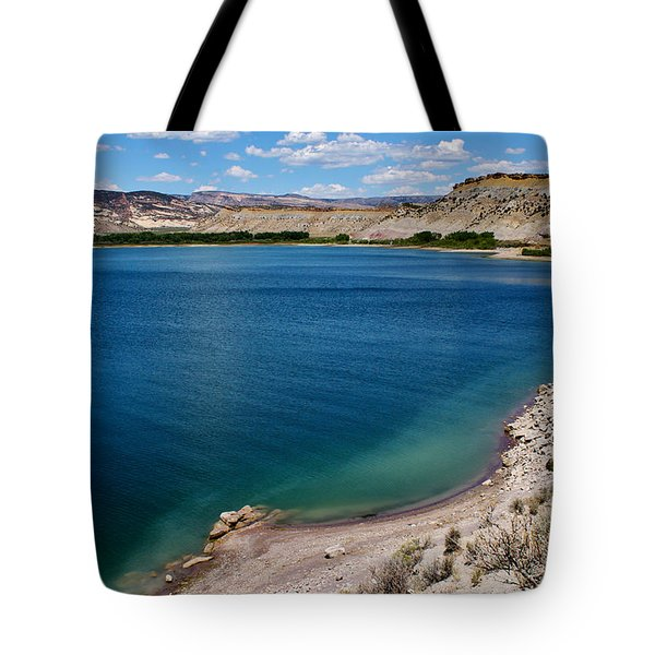 Tote Bag featuring the photograph Steinacker Reservoir Utah by Janice Rae Pariza