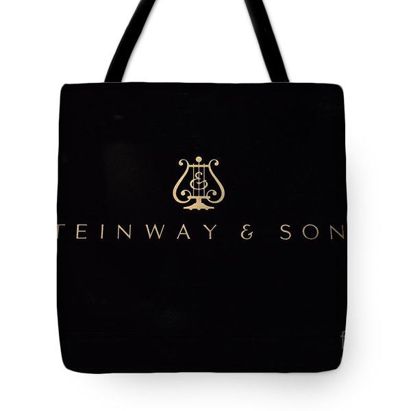 Steinway And Sons Tote Bag by David Bearden