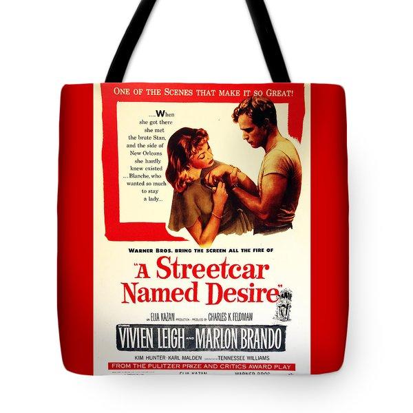 Stellaaaaa - A Streetcar Named Desire Tote Bag