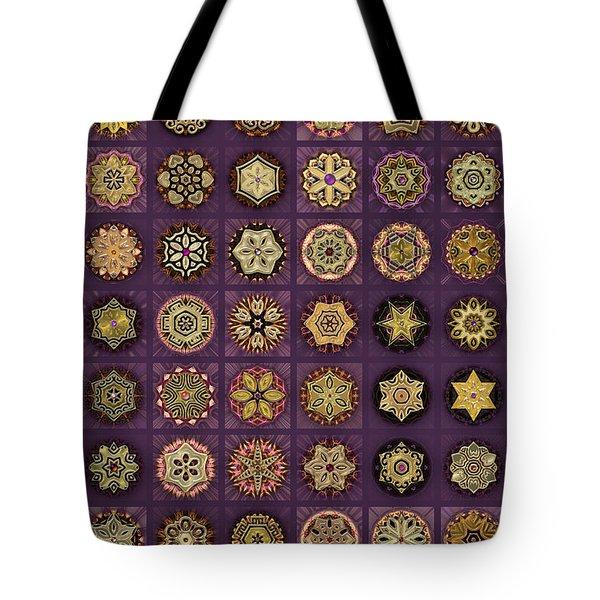 Stellars One Dingbat Quilt Tote Bag
