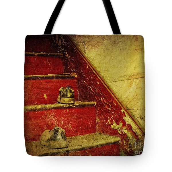 Tote Bag featuring the photograph Step Back In Time by Debra Fedchin