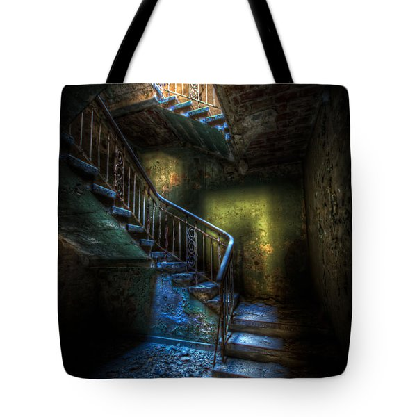 Step Into The Light Tote Bag by Nathan Wright