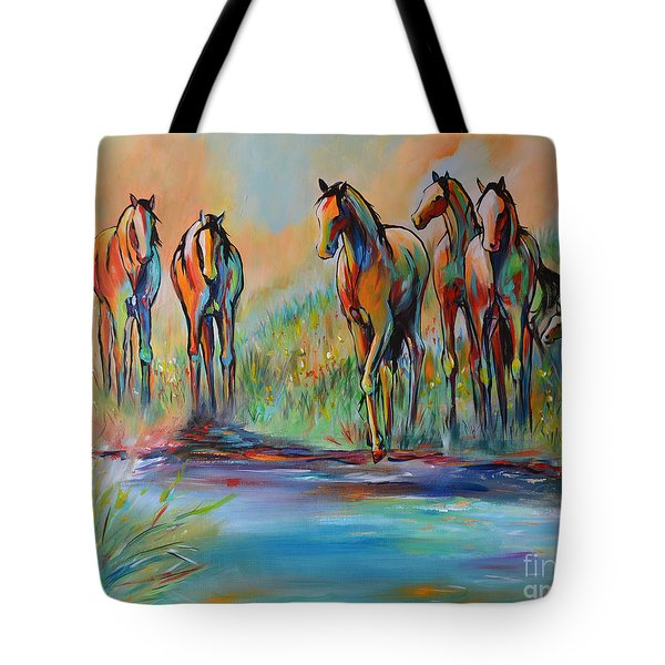 Step Of Faith Tote Bag by Cher Devereaux