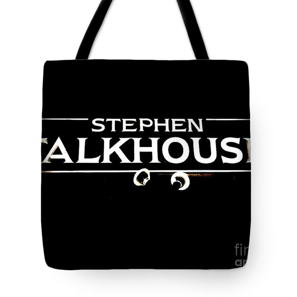 Stephen Talkhouse Tote Bag