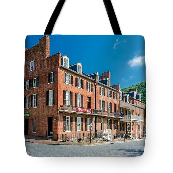 Stephenson's Hotel Tote Bag by Guy Whiteley