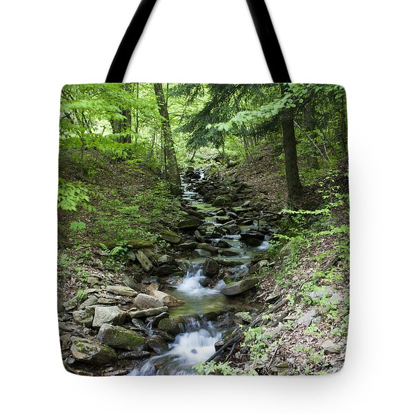 Stepped Water Fall Tote Bag