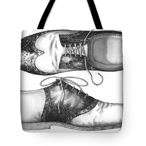 Stepping Out Tote Bag by Adam Zebediah Joseph